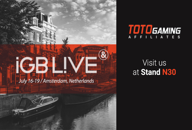 TotoGaming at iGB Live Amsterdam!